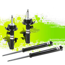 DNA FOR 04-14 MAZDA3/5 FRONT+REAR BLACK OE SUSPENSION GAS SHOCK ABSORBER STRUT
