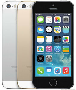 Apple iPhone 5S 16GB /32GB /64GB Smartphone Factory GSM Unlocked AT&T T-MOBILE.