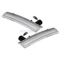 Dynamic Front Bumper LED Side Indicator Marker Light For MINI Cooper R55 R56