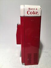 antique metal Coke  machine bank toy