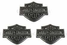Ford Super Duty Harley Davidson Set of 3 Three Rear Tailgate Emblem Badge Decal