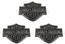 Ford Super Duty Harley Davidson Set of 3 Three Rear Tailgate Emblem Badge Decal