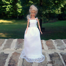 Barbie clothes - Handmade - Wedding Dresses - White - $14.00 each