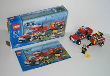 7942 LEGO Off Road Fire Rescue – 100% Complete w box & Instructions EX COND 2007