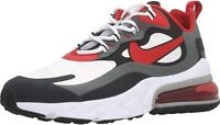 Nike Air Max 270 React Men's Size 8 Black Red White Running Shoes CI3866-002