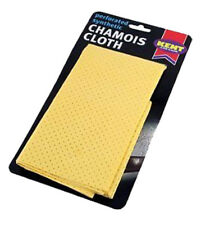 Kent Car Care Large Soft Perforated Synthetic Chamois Leather Shammy