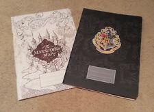 Harry Potter 2in1 Set:  'Marauders Map' & 'Hogwarts Crest' Exercise Book Set