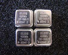 Golledge Crystal Oscillator 40MHz 3.3V GXO-U102H/B, DIP-8, Qty.4
