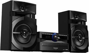 Panasonic SC-UX100E-K Bluetooth Megasound Party 300W CD FM Radio Hi-Fi System