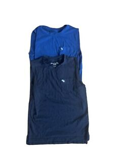 Boys Abercrombie muscle tee lot of 2 size 7/8