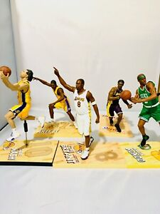 LOT McFarlane NBA Figure Kobe Bryant 81, Kobe Series 3, Nash, Artest, Rondo