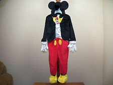Disney Junior Mickey Mouse Halloween Costume Jr Size 4/5T **NEW W/ TAGS**