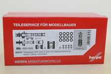 Herpa 084703 Chassis VOLVO 4-achs Truck With Chassis Trim 1 87