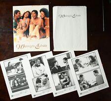 """""""Waiting to Exhale"""" (1995) movie press kit photos, folder -Whitney Houston"""