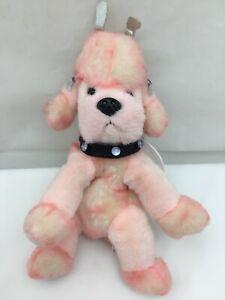 "Poodlekins Pink Poodle Jewel Wings Aurora Handmade Vintage Plush 9"" Lovey 2001"