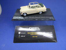 OPEL COLLECTION  Opel Olympia Rekord Cabrio Limousine 1954-1956 + Vitrine