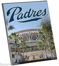 "MLB San Diego Padres Stadium Premium 8"" x 10"" Solid Wood Easel Sign"
