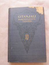 Old Rare Book Gitanjali by Rabindranath Tagore 1916 GC