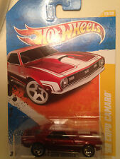 2011 Hot Wheels '68 Copo Camaro Red from the new models series