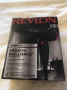 Revlon RVDR5251 Hair Dryer Perfect Heat Smooth Brilliance Ionic Reduce Frizz
