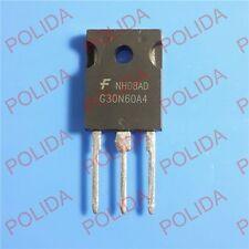 10PCS IGBT Transistor FAIRCHILD/INTERSIL/HARRIS HGTG30N60A4 G30N60A4 30N60