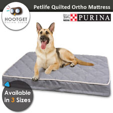 Petlife Quilted Ortho Foam Memory Fiber Odour Resistant Pet Dog Bed Mattress