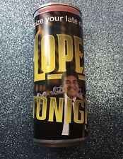 RARE PROMO 2012 Collectors Energy Drink  Can GEORGE LOPEZ TONIGHT TBS TV SHOW