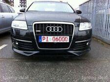 Tuning-deal Frontansatz passend für Audi A6 C6 4F Frontspoilerlippe Tuning