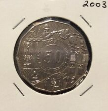 2003 50 cent unc coin