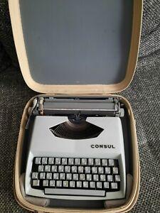 Consul Schreibmaschine im orig.Koffer/Model 231.3 /Deko/Nostalgie/Vintage/ Top