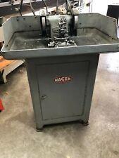 Hager Carbide Tool Grinder Cnc Swiss Screw Machine Agathon Star Tornos Citizen