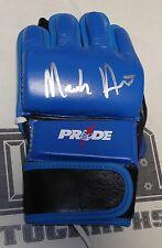 Mark Hunt Signed Pride FC Red Bolt Fight Glove PSA/DNA COA UFC 193 180 Autograph
