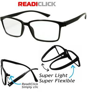 STYLISH LIGHTWEIGHT FLEXIBLE DESIGNER MENS LADIES READING GLASSES SPECTACLE LARG