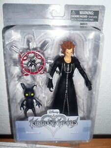 Kingdom Hearts Series 1 Axel & Shadow  Action Figure Diamond Select Toys 2 Pack