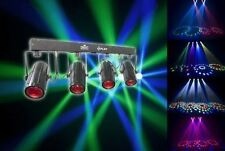 Chauvet DJ 4Play DMX-512 LED Light Beam Effect System, DMX Moonflower Bar + Case