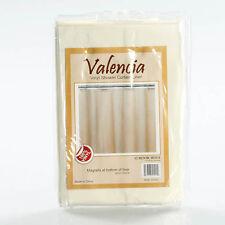 Valencia vinyl shower curtain liner