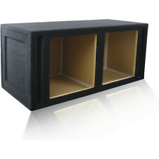 "DUAL PORTED 15"" KICKER® Solo-Baric L3 L5 L7 SQUARE MDF SUB WOOFER BOX ENCLOSURE"