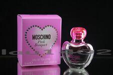 "Moschino - Pink Bouquet "" Mini "" 5ml edt  w/Box"