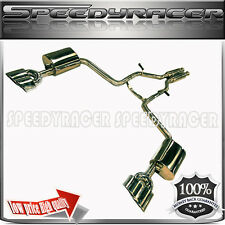 2006 2007 2008 Mercedes Benz CLS550 Dual Catback Exhaust Stainless Steel