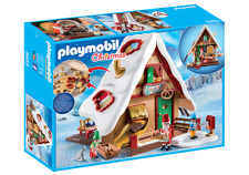 Playmobil #9493 Christmas Bakery with Cookie Cutters New 128pc Set