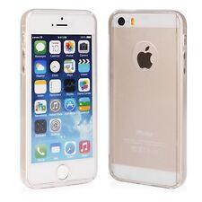 % Silikonhülle + Panzerglas FULL BODY Hülle Tasche Apple iPhone 7 4.7 TRANSPAREN