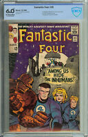 Fantastic Four # 45 CBCS 6.0 (with check mark) ow/wp 1st app. of the Inhumans