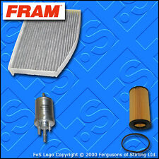 KIT di ricambio Seat Leon (1p) 2.0 TURBO FSI Cupra R Olio Cabina Carburante Filtro 2005-2012