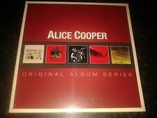ALICE COOPER - ORIGINAL ALBUM SERIES 5 CD SET NEW SEALED 2012 WARNER