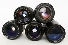lot of 5x various zoom lenses, for Nikon, Olympus and others