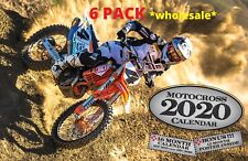 2020 MOTOCROSS  WALL CALENDAR DIRT BIKE 6 PACK