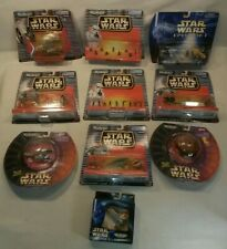 ☆ NEW LOT 10 Star Wars MICRO MACHINES OFFICERS SLAVE DESTROYER SITH Y etc Galoob