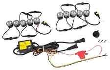 LED de circulación diurna Flex grande 10 x SMD 12v TÜV aprobado