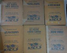 Lot 13 livres illustrés par RENEFER - Le LIVRE DE DEMAIN Fayard - Bois originaux