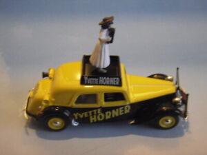"""NOREV - Citroën 15 cv """" Yvette HORNER """" Tour de France 1955"""